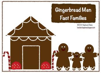 Gingerbread Man Fact Family