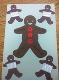 Gingerbread Man Fact Family Word Problems