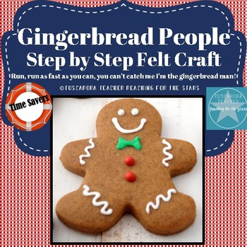 Gingerbread Man Felt Craft