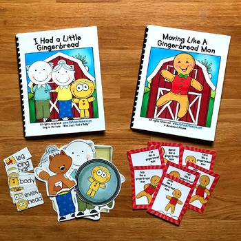 """Gingerbread Man Adapted Book--""""I Had a Little Gingerbread"""""""