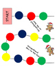 Gingerbread Man Game Board - WH questions, Story Recall, Predictions