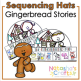 Gingerbread Man/ Girl/ Baby Sequence Hats