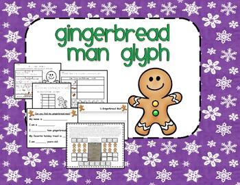 Gingerbread Man Glyph: Art, Writing, and Math Activity