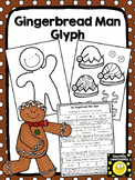 Gingerbread Man Glyph- Color, Cut and Paste
