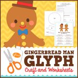 Gingerbread Man Math - Glyph Craft