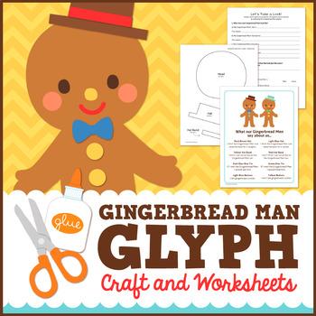 Gingerbread Man Math - Glyph Craft