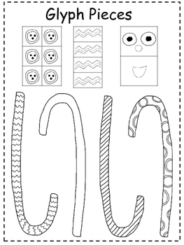Gingerbread Man Glyph Prek and Kindergarten
