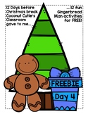 Gingerbread Man Go Gingy (Go Fish or Matching Game)