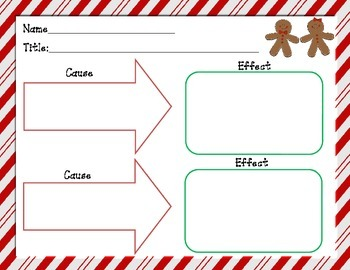 Gingerbread Man Graphic Organizers