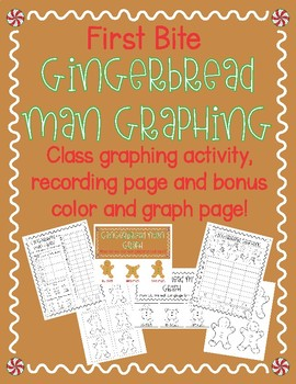 Gingerbread Man Graphing First Bite Activity