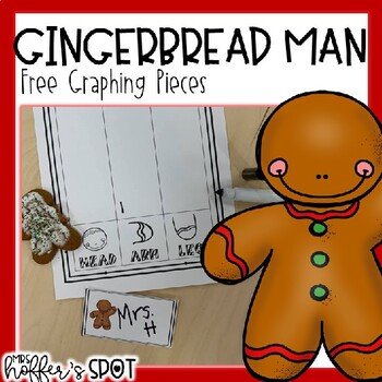 Gingerbread Man Graphing Pieces