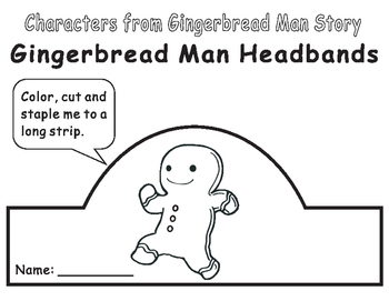 Gingerbread Man Headbands