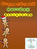 Gingerbread Man Holiday Activities
