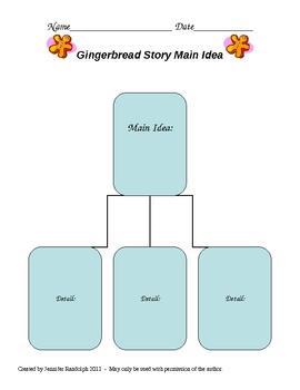 Gingerbread Man Holiday Unit
