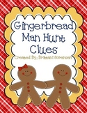 Gingerbread Man Hunt Clues Through the School