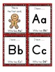 Gingerbread Man I Have...Who Has...Alphabet Game Cards - 27 cards total