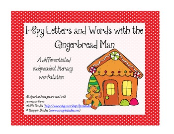 Gingerbread Man I-Spy