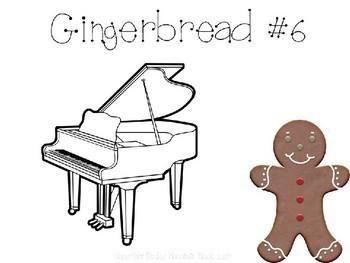 Gingerbread Man Instrument Scavenger Hunt