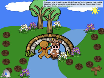 Gingerbread Man Interactive PowerPoint --You change the story with your choices!