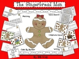 Gingerbread Man Kindergarten Roll and Cover and other activities/ Christmas