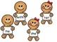Gingerbread Man Kindergarten Sight Word Practice & Word Wo