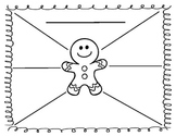 Gingerbread Man: Label Nouns, Verbs or Adjectives