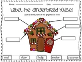 Gingerbread Man Label and Story