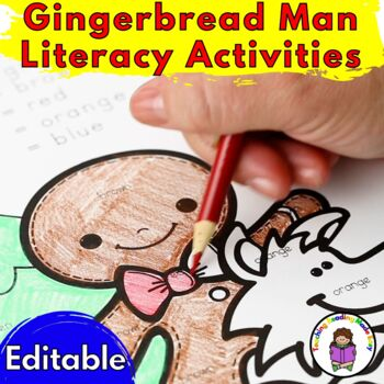 Activities for Gingerbread Man ...fun for Kindergarten