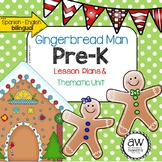 Gingerbread Man Lesson Plans & Thematic Unit - Spanish Eng