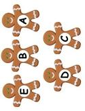 Gingerbread Man Letter Match