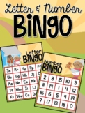 Gingerbread Man Letter and Number Bingo