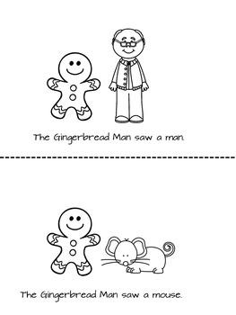 Gingerbread Man Literacy Activities