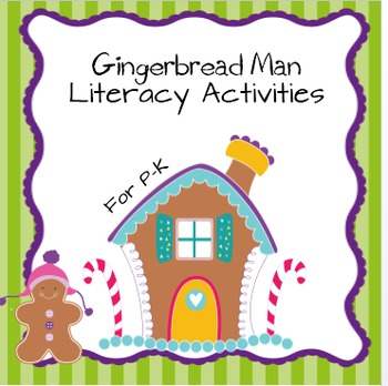 Gingerbread Man Literacy Activities