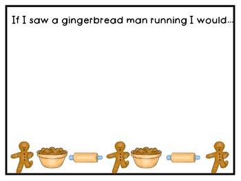 Gingerbread Man Literacy Activities for Pre-K, Kindergarten, and Homeschool