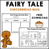 Gingerbread Man Literacy Activity FREE DOWNLOAD