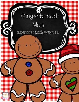 Gingerbread Man {Literacy & Math Activities}