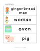 Gingerbread Man Literacy Pack