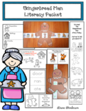 Gingerbread Man Literacy Packet With a Gingerbread Man Craft