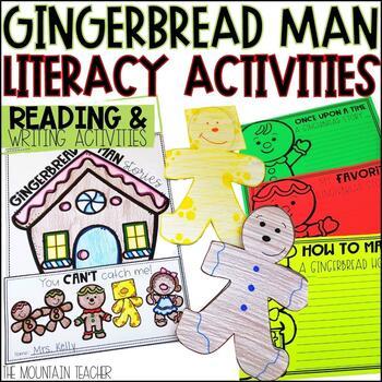 Gingerbread Man Literacy Unit