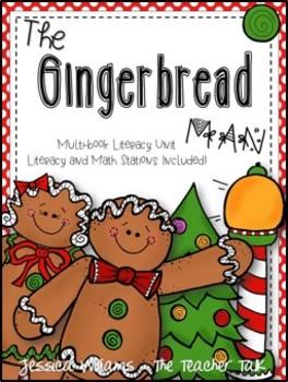 Gingerbread Man Literacy Units {8 Math & Literacy Stations}