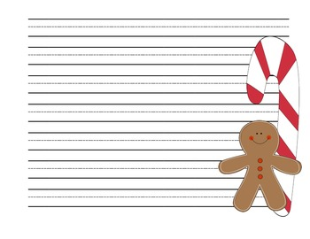 Gingerbread Man Literacy and Math