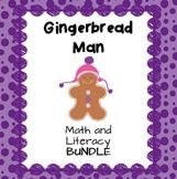 Gingerbread Man Literacy and Math Bundle