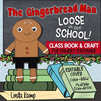 Gingerbread Man Loose In The School Class Book and Gingerb