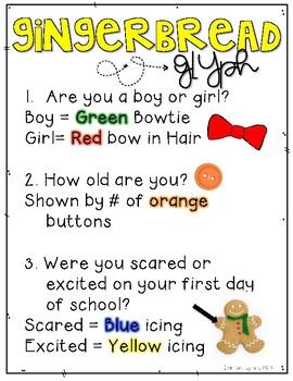 Gingerbread Man Loose in the School: Back to School Mini Unit