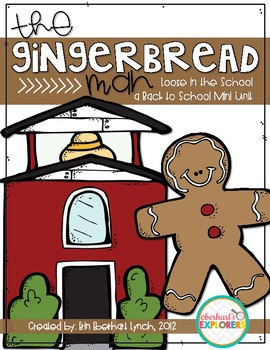 Gingerbread Man Loose in the School: Back to School Mini Unit