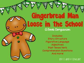 Gingerbread Man Loose in the School Book Companion