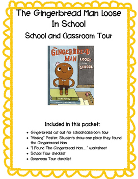 Gingerbread Man Loose in the School Classroom Hunt