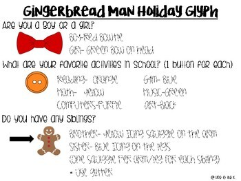 Gingerbread Man Loose in the School Holiday Activity
