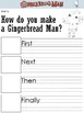 Gingerbread Man Loose in the School Worksheets and Writing Prompts