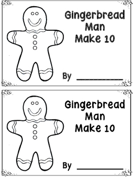 Gingerbread Man Make 10